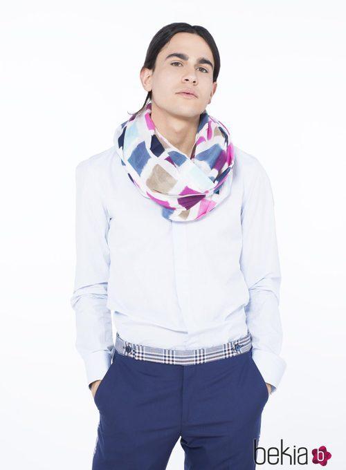Fular para hombre de la colección de verano 2015 de Chic Sympatique