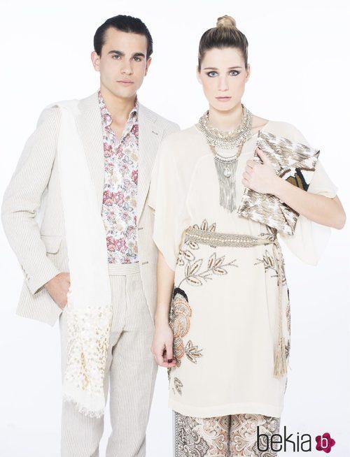 Complementos en plata y con lentejuelas de la colección de verano 2015 de Chic Sympatique