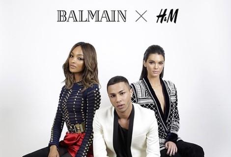 Balmain, la nueva firma colaboradora de H&M