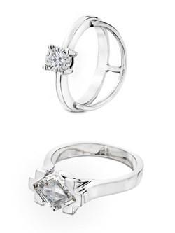 Solitario de la colección de joyas para novias 2015 de Victor Caparros