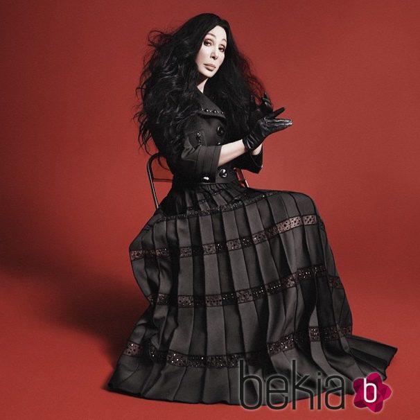 Cher se estrena como imagen de Marc Jacobs en su colección otoño/invierno 2015