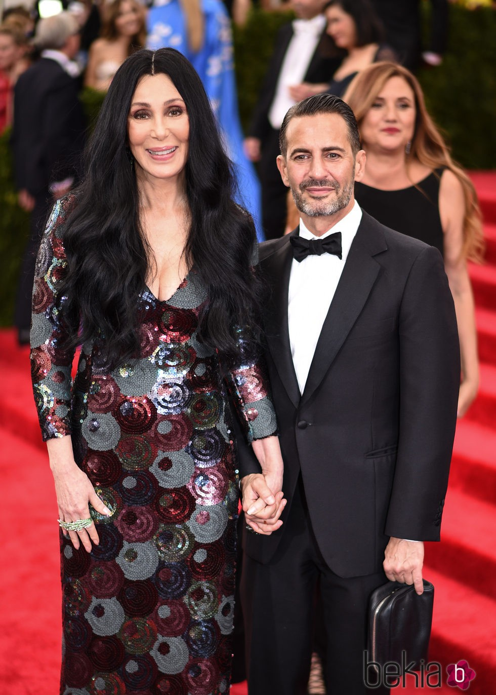 Cher y Marc Jacobs en la Gala del Met 2015