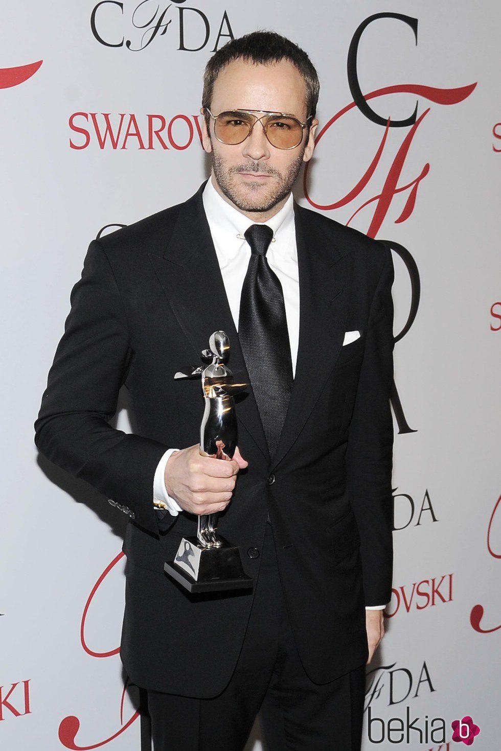 Tom Ford consigue el premio al Mejor Diseñador del Año en los CFDA Fashion Awards 2015