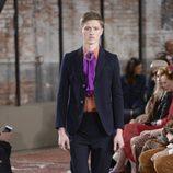 Traje de chaqueta de la colección Crucero 2016 de Gucci