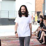 Alessandro Michele en el desfile de su colección Crucero 2016 para Gucci