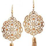 Pendientes con cadenas de la colección 'White & Gold' de Claire's