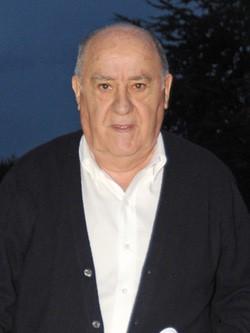 Amancio Ortega, dueño del grupo inditex