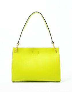 Bolso en color lima de la colección verano 2015 de Calvin Klein