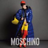 Katy Perry con un look multicolor en la campaña otoño/invierno 2015 de Moschino