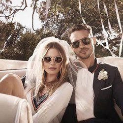 Behati Prinsloo y Arthur Kulkov presentan la colección Eyewear verano 2015 de Tommy Hilfiger