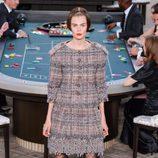 Traje tweed de la colección de Alta Costura otoño/invierno 2015/2016 de Chanel