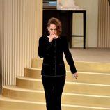 Kristen Stewart en el desfile de la colección de Alta Costura otoño/invierno 2015/2016 de Chanel