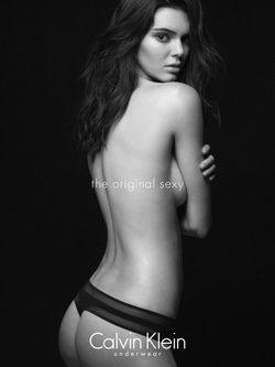 Kendall Jenner en la colección otoño/invierno 2015/2016 de Calvin Klein Underwear
