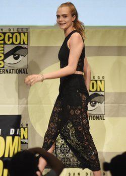 Cara Delevigne en el Comic-Con 2015