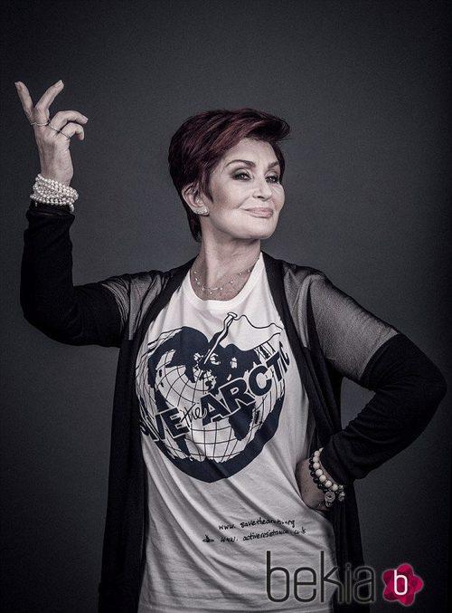 Sharon Osbourne apoya la campaña de Greenpeace 'Save the Arctic'