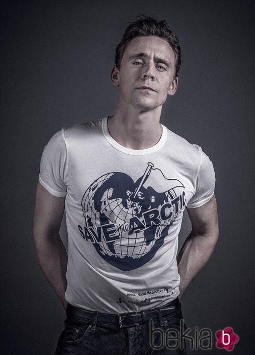 Tom Hiddleston apoya la campaña de Greenpeace 'Save the Arctic'