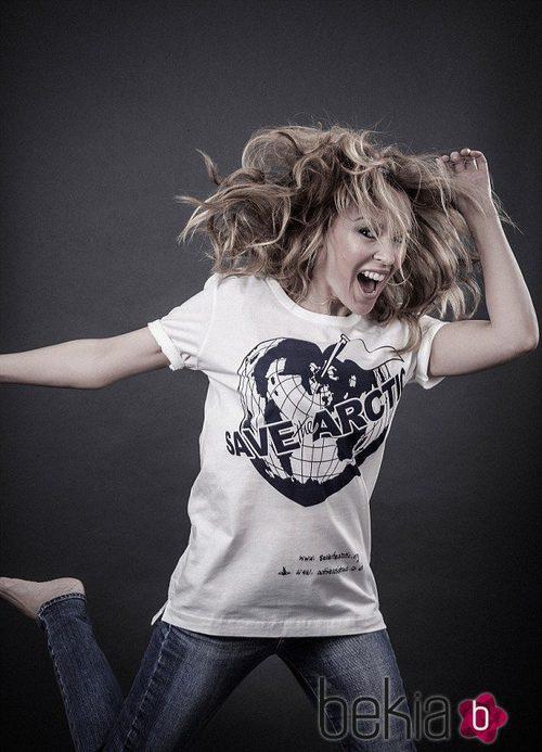 Kylie Minogue apoya la campaña de Greenpeace 'Save the Arctic'