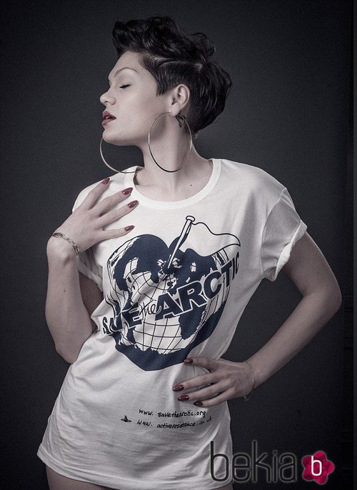 Jessie J apoya la campaña de Greenpeace 'Save the Arctic'