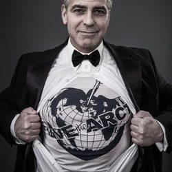 Celebrities con las camisetas solidarias 'Save the Arctic'