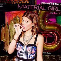 Sofia Richie, embajadora de la colección del quinto aniversario de Material Girl