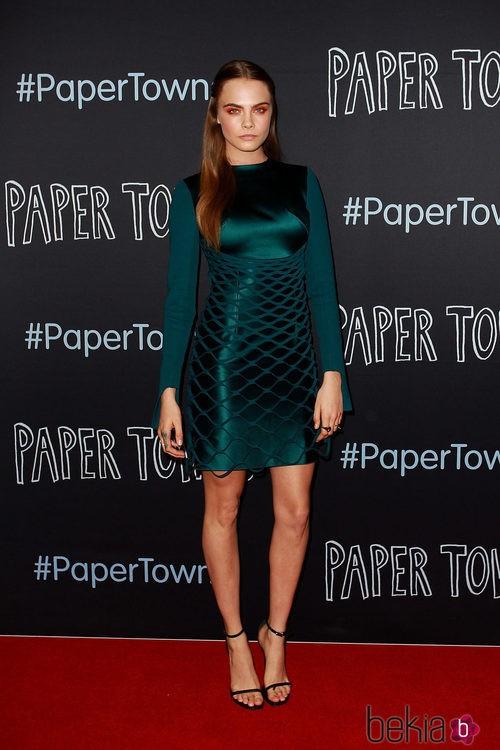 Cara Delevingne en la premiere de 'Ciudades de papel' en Sydney