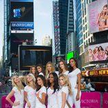 Los ángeles de VS se hacen con Time Square durante la presentación de la campaña 'Body'
