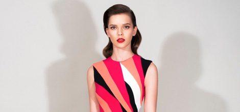 Vestido corto multicolor de la Colección Resort 2016 de Zuhair Murad