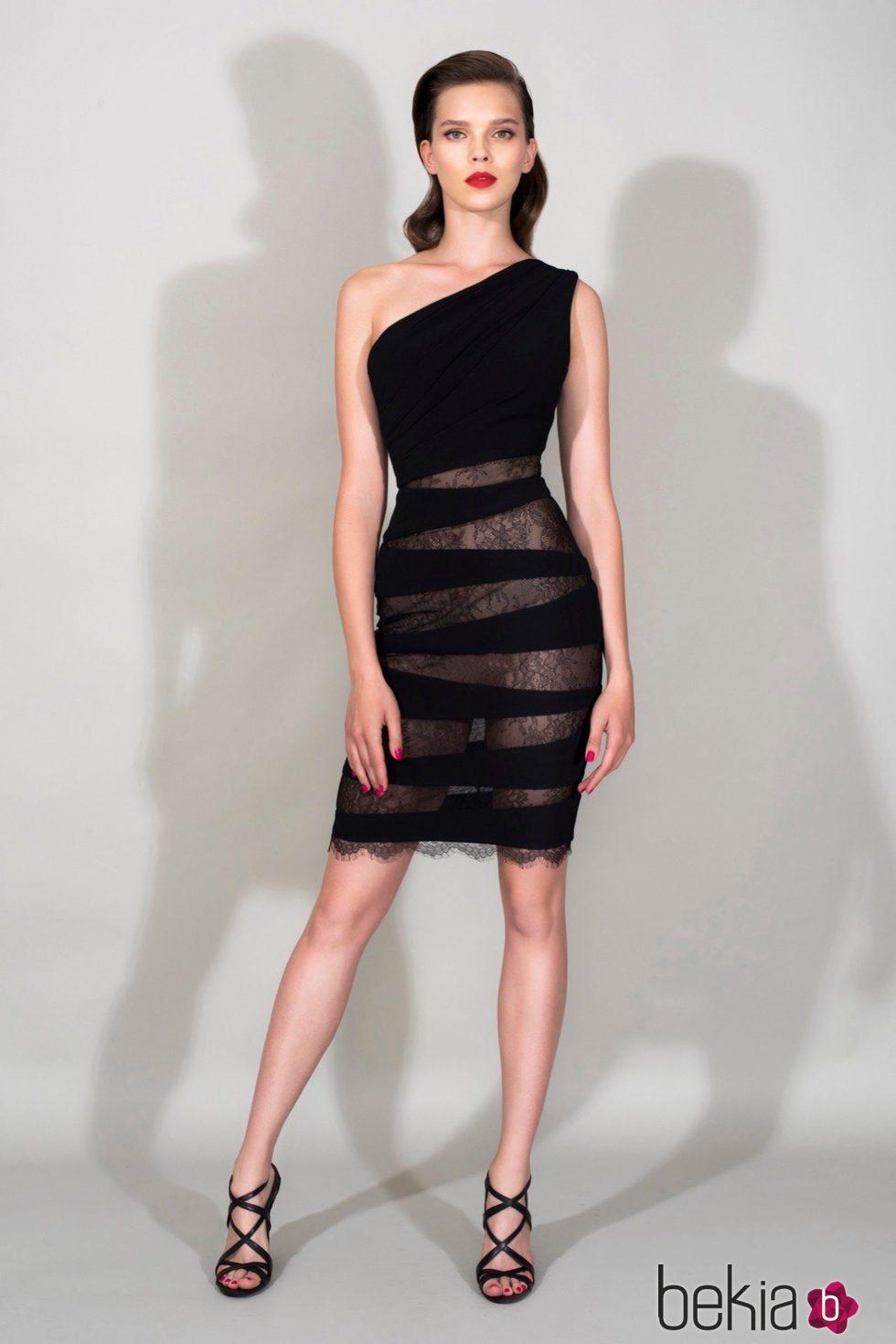 Vestido negro xorto