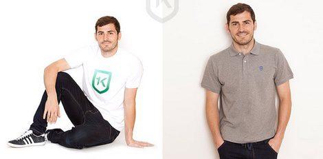 Iker Casillas presenta los nuevos modelos de su firma de moda solidaria 1K