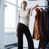 Edie Campbell con la colección 'Studio' otoño/invierno 2015/2016 de H&M