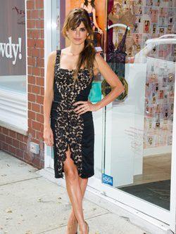Penélope Cruz en el aniversario de una tienda de Agent Provocateur en Nueva York