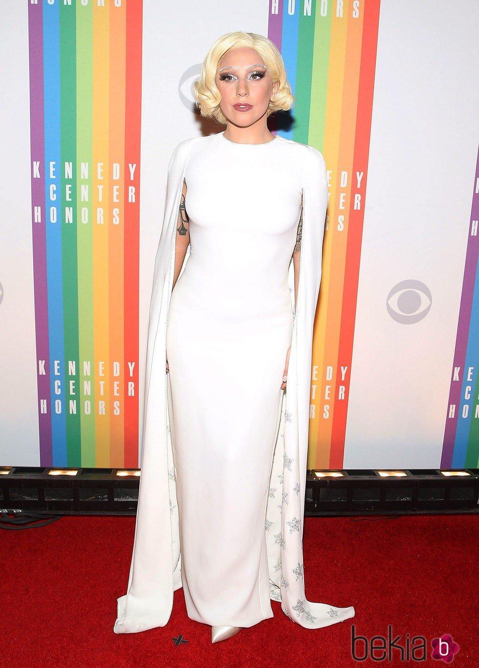 Lady Gaga con un vestido de Alta Costura de Valentino