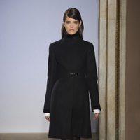 Abrigo negro de la colección otoño/invierno 2015/2016 de Fay
