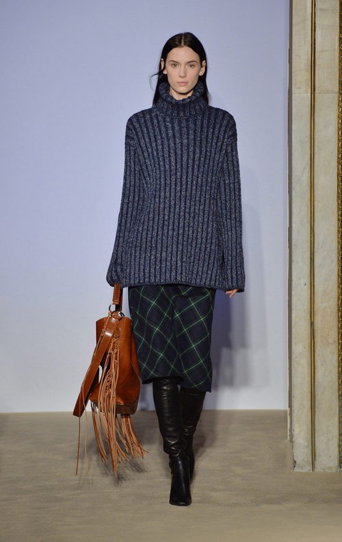 Jersey holgado en gris de la colección otoño/invierno 2015/2016 de Fay