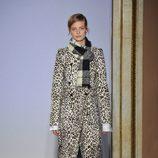 Abrigo animal print de la colección otoño/invierno 2015/2016 de Fay