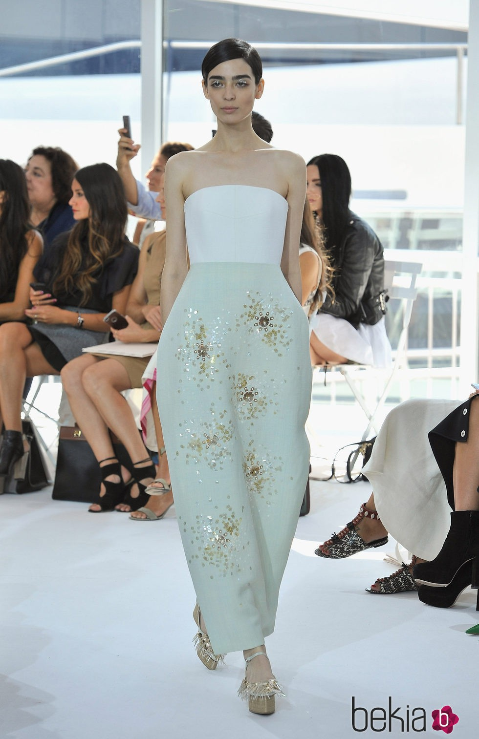 Vestido largo jesus del pozo fashion – Spain Art Vestidos