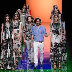 Desfile de la colección de primavera/verano 2016 de Ailanto en Madrid Fashion Week