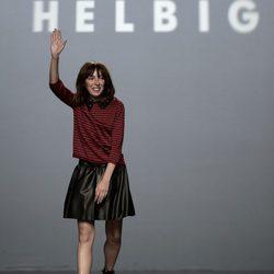 Desfile de la colección de primavera/verano 2016 de Teresa Helbig en Madrid Fashion Week