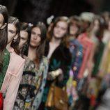 Carrusel de la colección de primavera/verano 2016 de Gucci en Milan Fashion Week