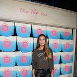 Elena Tablada en la presentación de la nueva colección fall/winter 15/16 de la firma The Hip Tee