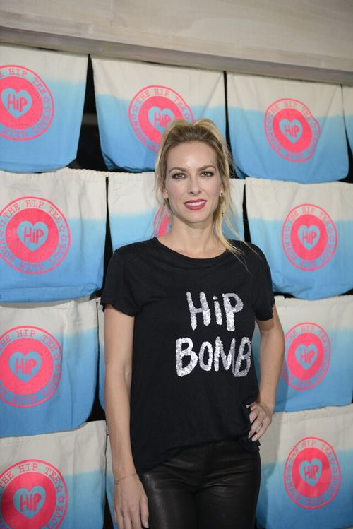 Kira Miro en la presentación de la nueva colección fall/winter 15/16 de la firma The Hip Tee