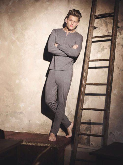 Pijama gris de la nueva colección de Replay