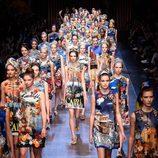 Carrusel de la colección de primavera/verano 2016 de Dolce & Gabbana en Milan Fashion Week