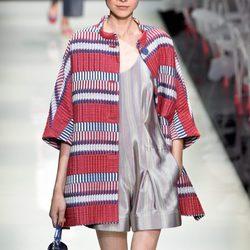 Colección primavera/verano 2016 Armani Milan Fashion Week