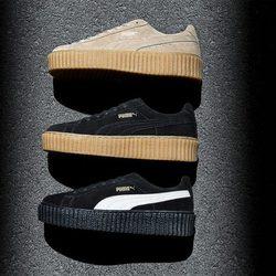Nueva colección de zapatillas de la cantante Rihanna para la marca Puma