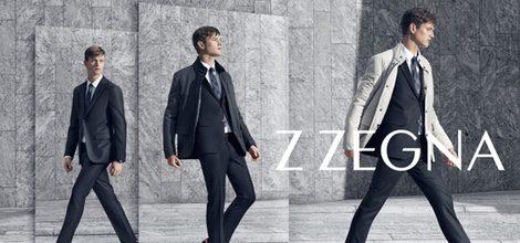 Imagen de la campaña de promoción de la nueva colección otoño/invierno de Z Zegna 2015/2016