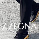 Imagen de un calzado para la campaña de la nueva colección otoño/invierno de Z Zegna 2015/2016