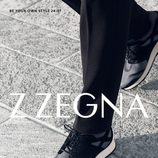 Imagen de zapato para la campaña de la nueva colección otoño/invierno de Z Zegna 2015/2016