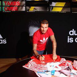 David Beckham embajador de Adidas en Dubai