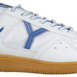 Zapatilla Matsui Classic blanca y azul de la colección otoño/invierno 2011 de Yumas